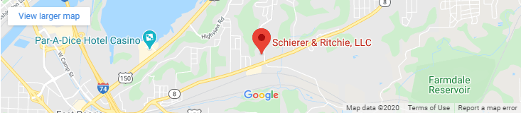 Schierer & Ritchie personal injury attorneys map